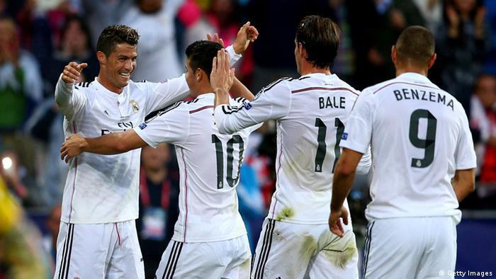 Cristiano Ronaldo UEFA Super Cup Madrid vs Sevilla