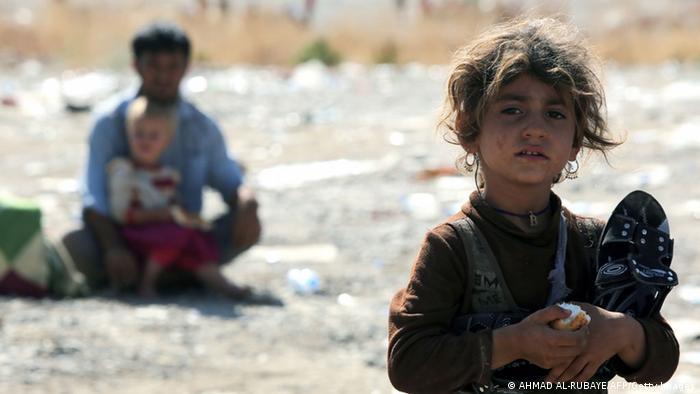 Irak Flüchtlinge Jesiden 11. August