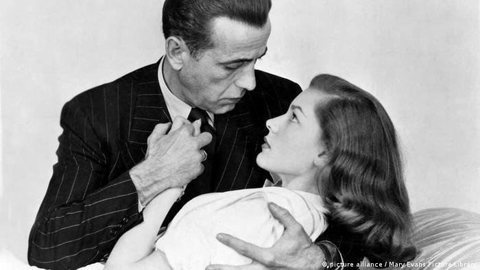 Lauren Bacall und Humphrey Bogart 1946 (picture alliance / Mary Evans Picture Library)
