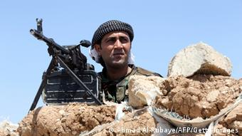 Peshmerga fighter near Mosul 12.08.2014