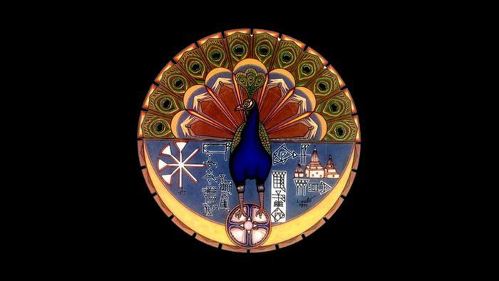 Engel Pfau als Symbol der Jesiden (Foto: Wikipedia)