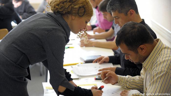Sprachkenntnis bei Ehegattennachzug Sprachkurs im Goethe-Institut Istanbul