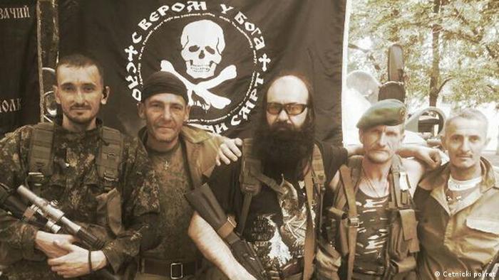 Srpski četnici u Ukrajini