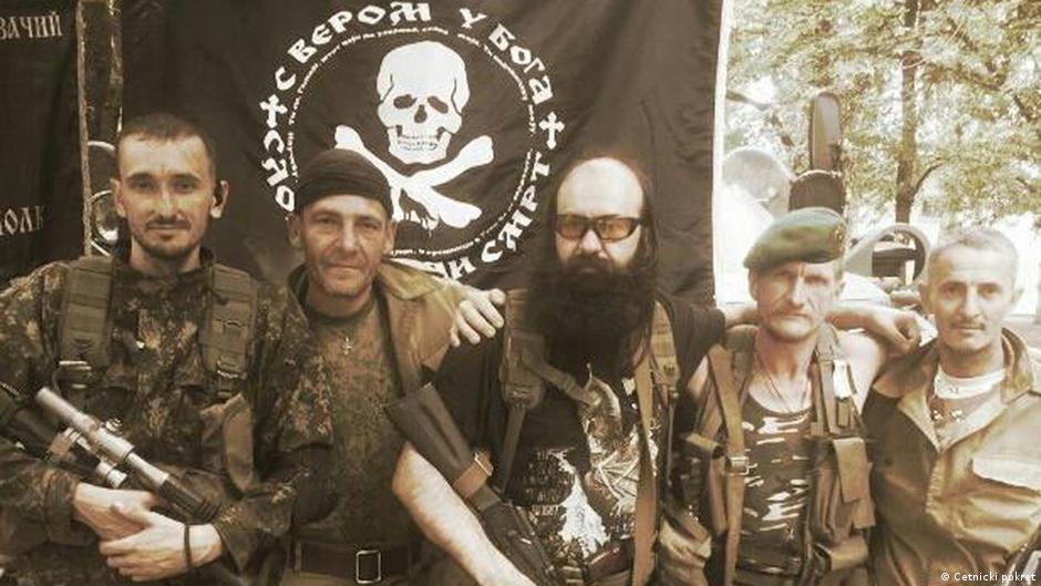 serbian mercenaries fighting in eastern ukraine europe