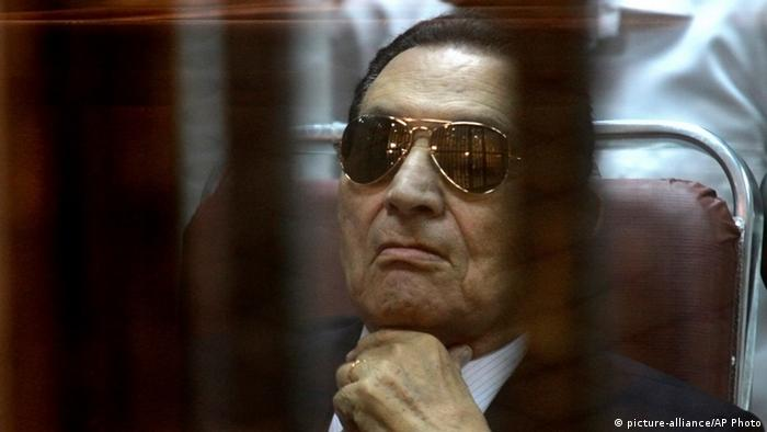 ARCHIVBILD Hosni Mubarak (picture-alliance/AP Photo)