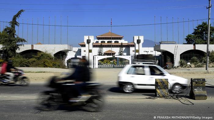Nepal Parlament in Kathmandu