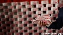 Symbolbild Geld China (picture-alliance/dpa)