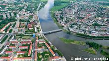 Luftaufnahme Frankfurt an der Oder und Slubice