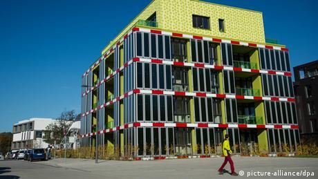 德国汉堡的可持续海藻屋
