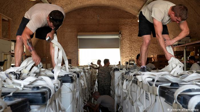 US-Hilfe für die Flüchtlinge in Nordirak. Foto: EPA/SHAWN NICKEL