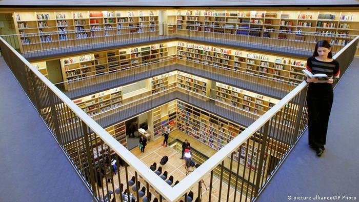 Dutchess Anna Amalia Library in Weimar, Copyright: picture alliance/AP Photo
