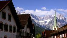 14.08.2014 DW Dokumentation und Reportage Garmisch-Partenkirchen, Stadt, Berge