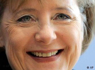 Good news for Angela Merkel