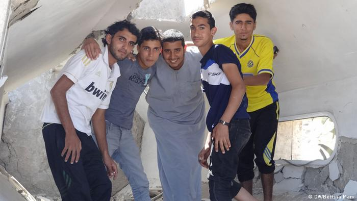 Young People in Gaza