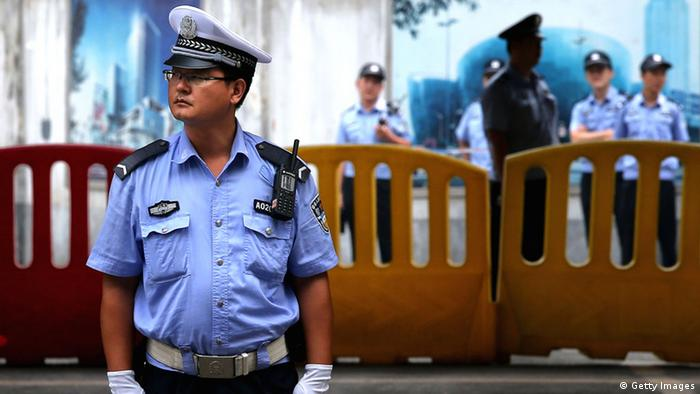 Symbolbild Polizei China