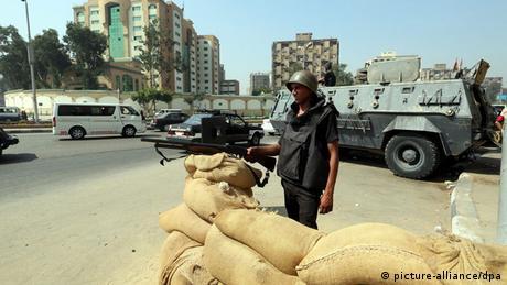 مصر اشتباكات محدودة في ذكرى فض اعتصام رابعة  أخبار  DWDE  14082014