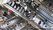 Bildergalerie Kaufhäuser Mall in Hongkong