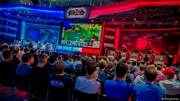 Gamescom 2014 in Köln E-Sports
