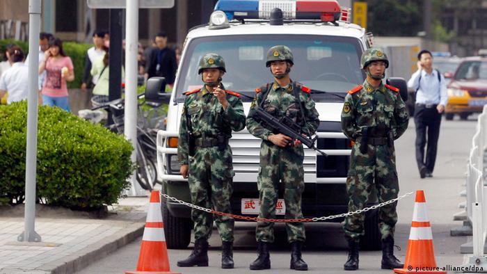 China Bereitschaftspolizei Peking