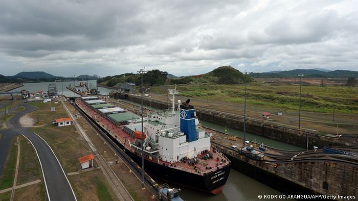 Panama-Kanal Miraflores-Schleuse