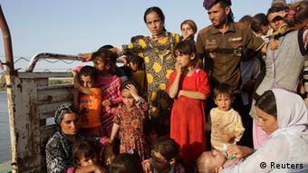 Jezidi u bijegu pred terorom IS-a