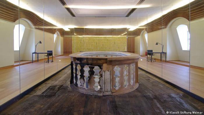 Restaurierte Herzogin Anna Amalia Bibliothek 2014