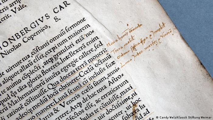 Nikolaus Kopernikus: De Revolutionibus Orbium coelestium 1543