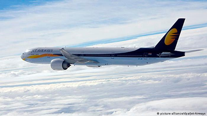 Boeing 777 Jet-Airways (picture-alliance/dpa/Jet-Airways)