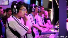 GamesCom 2014 China Spieler