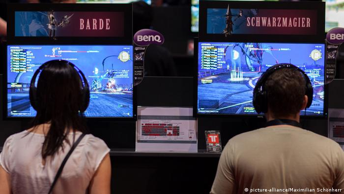 GamesCom 2014 Spieler