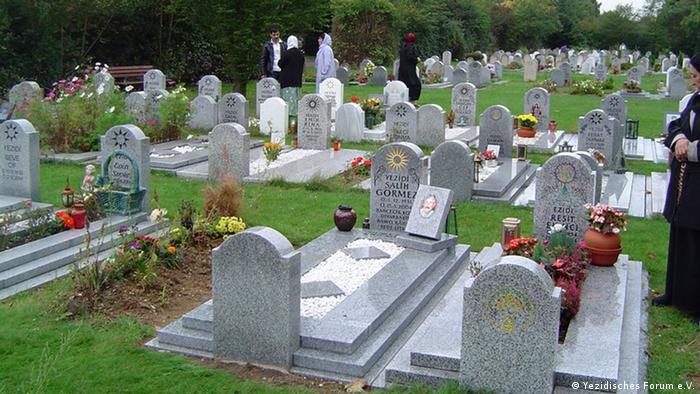 Jesidischer Friedhof in Hannover (Foto: Yezidisches Forum e.V. )
