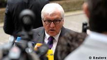 Aussenministertreffen Brüssel Steinmeier