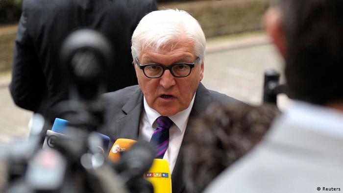 Міністр закордонних справ Німеччини Франк-Вальтер Штайнмаєр (фото з архіву)
