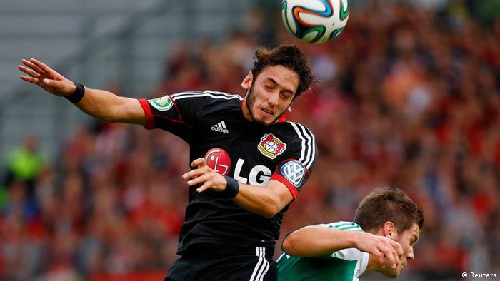Fußball DFB-Pokal 1. Runde Alemannia Waldalgesheim - Bayer Leverkusen