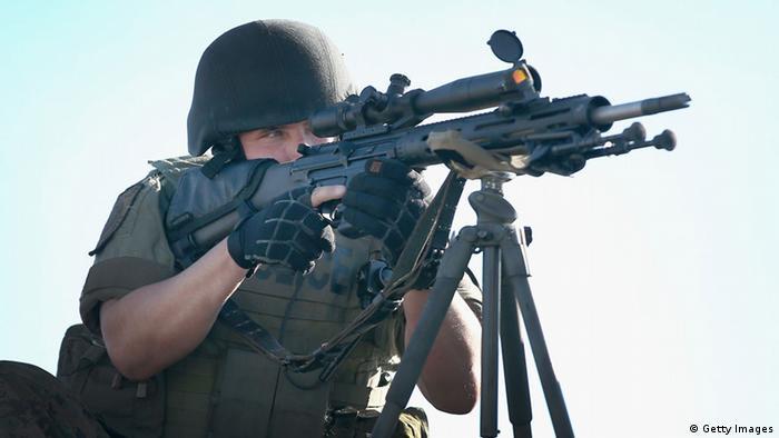 Американские полицейские в Фергюсоне