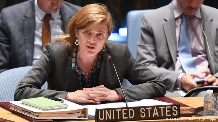 UN Sicherheitsrat IS Samantha Power 15. August