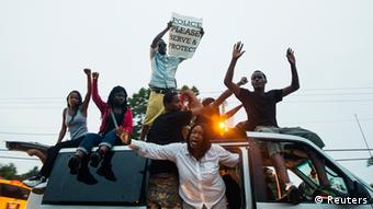 USA Ferguson Protest gegen die Polizei
