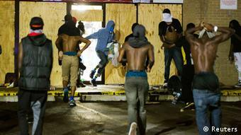 USA Protest in Ferguson Plünderungen 16.08.2014