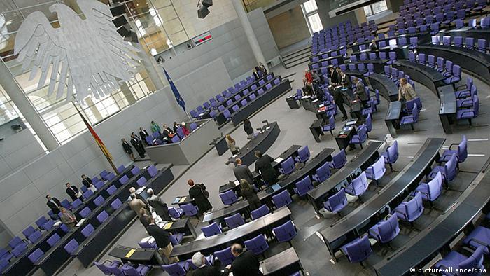 Bundestag Berlin Debatte