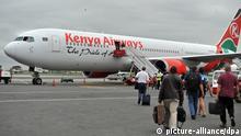 Kenya Airways Flughafen Nairobi ARCHIV