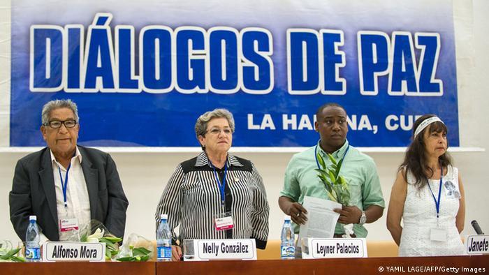 Kolumbien FARC Friedensverhandlungen in Kuba 16. August 2014