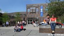 Hauptgebäude der Freien Universität Berlin Deutschland