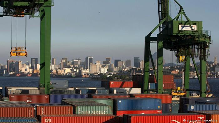 Container Hafen von Rio de Janeiro