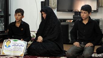 خانواده علی چراغی، مقتول ۴۱ ساله