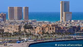 Libyen Stadtansicht von Tripolis