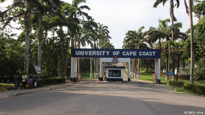Universität Cape Coast in Ghana Foto: Gwendolin Hilse