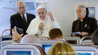 Südkorea Papst Franziskus Rückreise nach Rom 18.08.2014