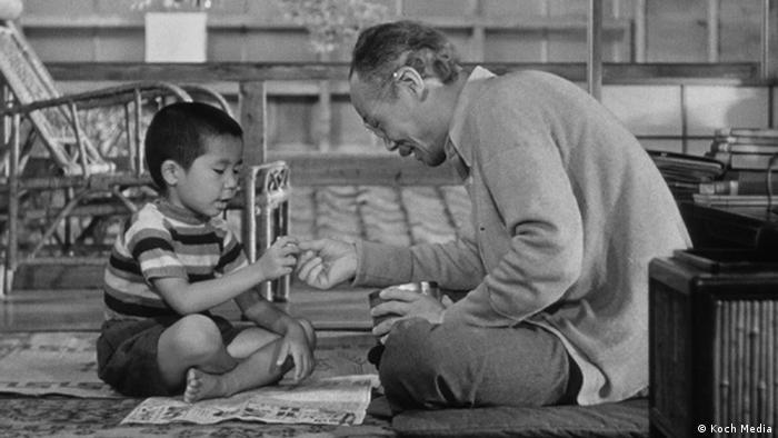 Szene aus einem Yasujiro Ozu-Film aus der DVD-Box Ozu (Foto: Koch Media)