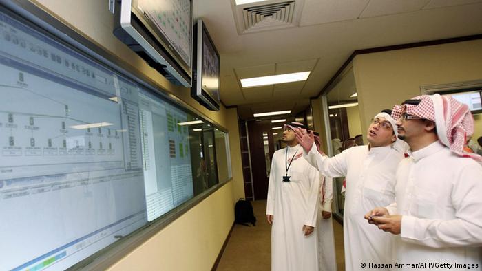 Börse in Riad Saudi Arabien Archiv 2007