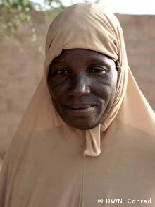 Tamazrat Ousmanen (Foto: Naomi Conrad/DW)